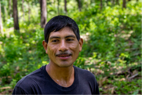 Name: Victor Manuel Ramirez Age: 40  Place of Residence: Seja Languages Spoken: Español Time Spent on Izabal Agroforest: 5 years Jobs: Grafting, Brush Control, looking after the trees  Other Employment: Has worked on other farms Future Plans: No plans as of yet Opinion on Izabal Agroforest: The woods they grow here are different, they are rare woods that not a lot of other people grow
